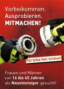 Feuerwehr - Mitmachen - Mitgliederwerbung©Gemeinde Dötlingen